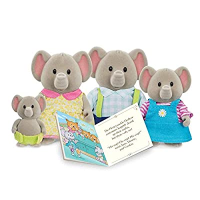 Li'l Woodzeez Elephant Family Set: Toys & Games