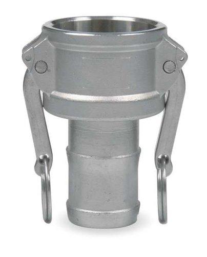 Cam Lock Coupler (JGB Enterprises 030-03048-848CI Aluminum Type C Cam and Groove Fitting, 3