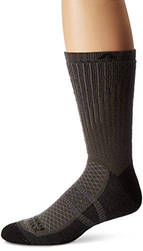 Wigwam Men's Cool-Lite 2 Pro Crew Lightweight Ultimate Sport Sock,charcoal,XL/shoe Size: Men's ()