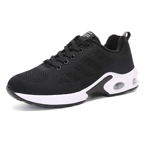 Zapatos Señoras Casual Deportivos Lace NGRDX Calzado Mallas Señoras Zapatos add Señoras cotton amp;G Zapatos Casual Señoras black qwvOBzXv