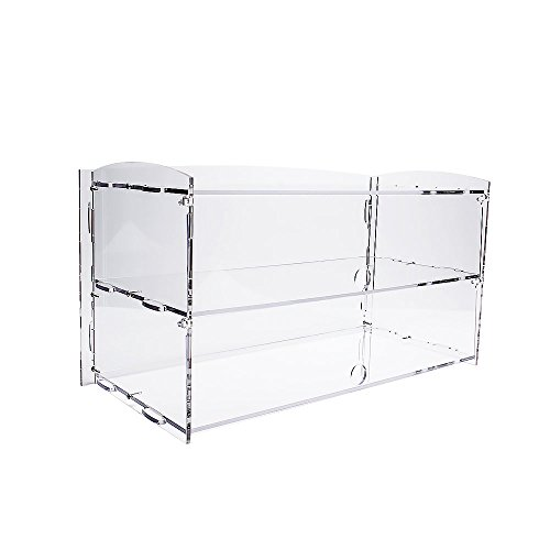 (Display4top Acrylic Display Pastry Cabinet Cakes Donuts Cupcakes Pastries (2 Tier))