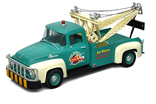 Welly Diecast Model - Ford F100 Green Tow Truck - 1:18 for sale  Delivered anywhere in USA