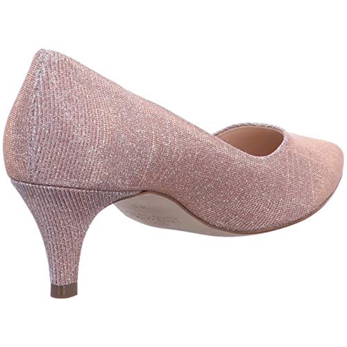 Shimmer Heels Powder Red Kaiser Women's Closed Callae Peter Toe 044 Pink 84qzXnx
