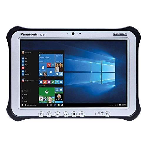 "Panasonic Toughpad FZ-G1, Intel Core i5-4310U @2.0GHz, 8GB, 256GB SSD, 10.1"" WUXGA Multi Touch + Digitizer, WiFi, Bluetooth, Webcam, Rear Cam, Windows 10 Pro, 4G LTE, Dedicated GPS (Renewed)"