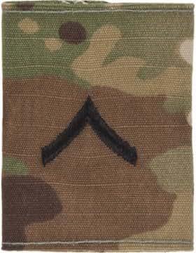 amazoncom army scorpion ocp enlisted rank clothing