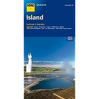 ADAC Länderkarte Island 1:600.000 (ADAC Länderkarten)