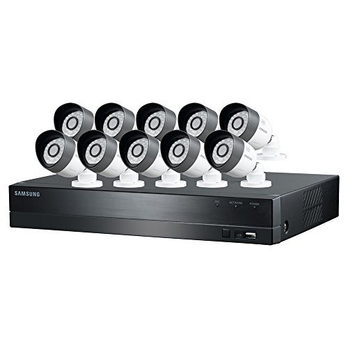Samsung SDH-C5100 16 Channel 720p All-in-one DVR Security System (Black)