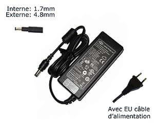 Lavolta-Adaptador de corriente alterna para HP Pavilion 15-15-B123SS B001SS B010ES 15-15-15-B146SA b001ea-Power-Ordenador portátil (TM) de marca () con enchufe europeo