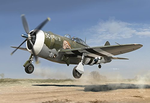 "P 47d Thunderbolt - Kinetic Model Kits 1:24 Republic P-47D Thunderbolt ""Razorback"" K3208"