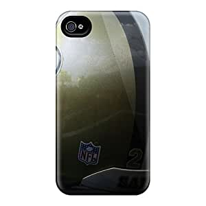 AnnaDubois Iphone 4/4s Protective Hard Phone Cases Customized Fashion New Orleans Saints Pictures [peA4524OVKp]