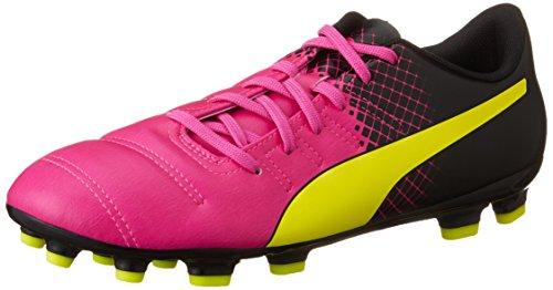 Puma EvoPower 4.3 Tricks AG Scarpa Calcio, Rosa, 7,5