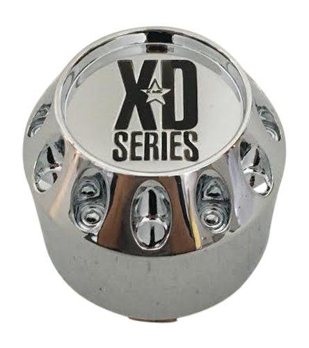 KMC XD Series 464K75 905K75 S504-11 Chrome Wheel Center (Kmc Wheel Caps)