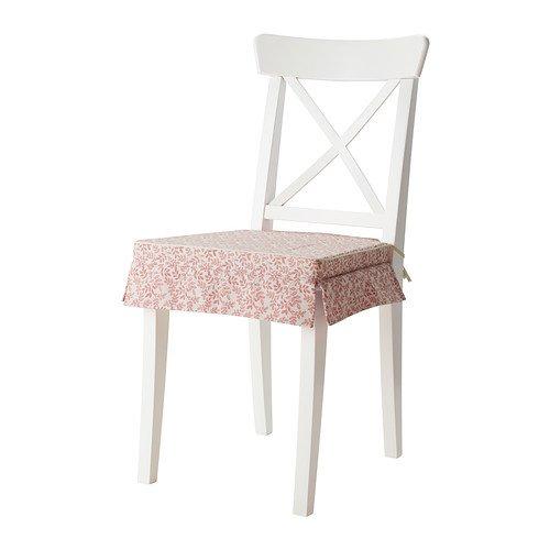 IKEA ELSEBET - cojín para silla, rosa - 43 x 42 x 4,0 cm ...