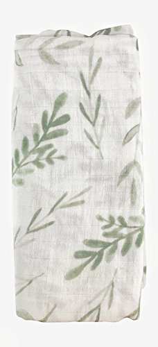 Mebie Baby 100% Cotton Muslin Swaddle (Vine)