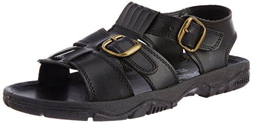 Liberty Coolers SEMSON-N Men's Black Sandals and Floaters – 10 UK (45 EU) (8040016100)