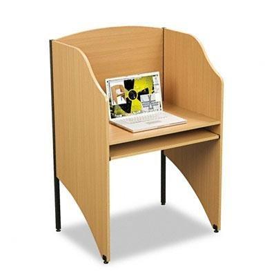 Balt - Floor Carrel Laminate 32-3/4W X 24-1/2D X 48H Teak ''Product Category: Office Furniture/Privacy Screens/Study Carrels''