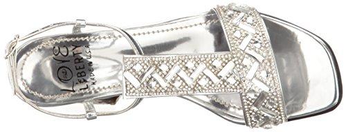 Love & Liberty Women's Savanna-Ll Dress Sandal, Silver, 6 M US by Love & Liberty (Image #8)