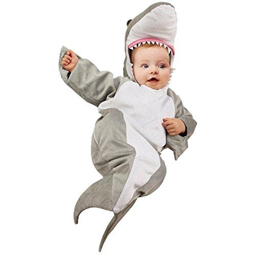 Shark Baby Bunting Costume (Shark Bunting Infant Costume Infant (Infant (0-6))