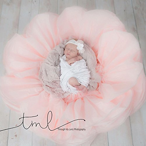 Giant paper flower for newborn photography girl baby shower alice in wonderland photo props