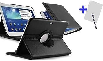Theoutlettablet® Funda Giratoria 360º para Tablet Samsung Galaxy Tab 4 SM-T530 10.1