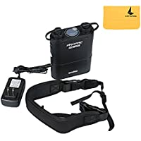 Godox Propac 4500mAh PB960 Flash Power Battery Pack Kit with Dual Output for Godox AD360 AD180 Flash Canon 580EX II, 580EX, 550EX, Nikon SB-900 SB-800 SB-80DX, SONY HVL-F58AM HVL-F43AM, Metz Flash