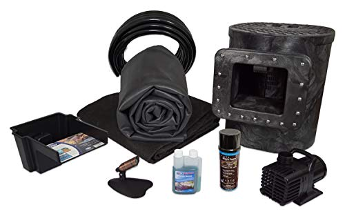 Half Off Ponds Savio Select 1200 Complete Water Garden and Pond Kit, with 8 x 10 Foot EPDM Rubber Liner