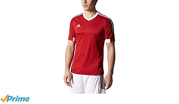 79ded1028 Amazon.com : adidas TIRO 15 Jersey [POWRED/WHITE] (M) : Sports & Outdoors