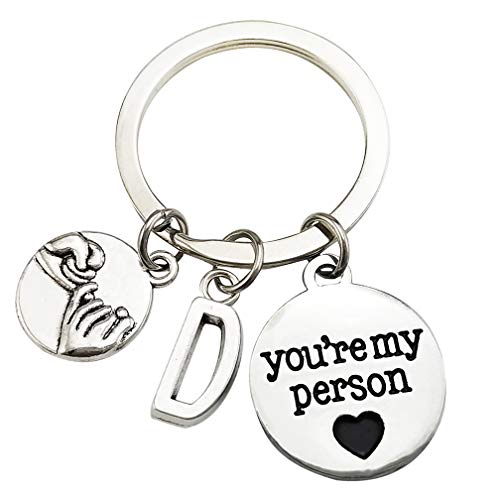 d letter keychain - 4