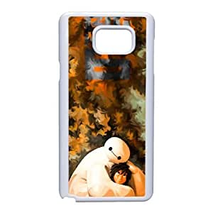 Generic for Samsung Galaxy Note 5 Cell Phone Case White Big Hero 6 Baymax Custom 1592