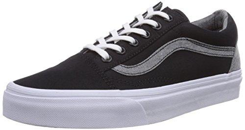 Vans Unisex Old Skool (T&C) Black Skate Shoe 9 Men US / 10.5 Women US (Old School Vans Shoes compare prices)