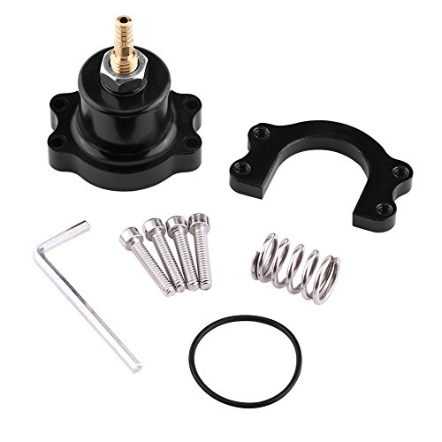 - Aluminum Adjustable Fuel Pressure Regulator Kit for HONDA CIVIC 88-00 ACURA INTEGRA 90-01(Black)