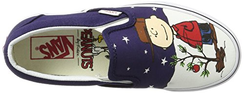 Baskets Classic on Slip Multicolore Blanc Vans Mixte Peanuts Charlie Adulte Tree EU 43 Peanuts Noir n5tqPI