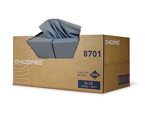 Durawipe Smooth Cloth Towel Blue 17.5x17-400 sheets per ()