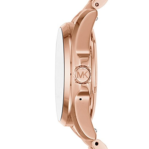 Large Product Image of Michael Kors Access, Women's Smartwatch, Bradshaw Rose Gold-Tone and Blush Stainless Steel, MKT5013