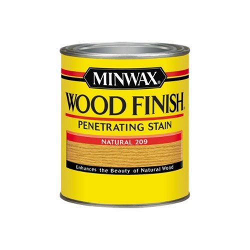 Minwax 70000444 Wood Finish Penetrating  Stain, quart, Na...