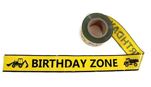 Birthday Zone Party Tape! - 300 Foot Roll, 3