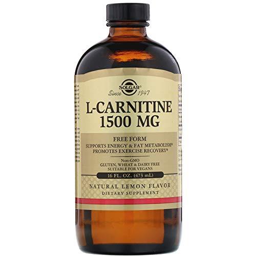 Solgar - L-Carnitine 1500 mg Liquid 16 oz (Best Form Of Carnitine)