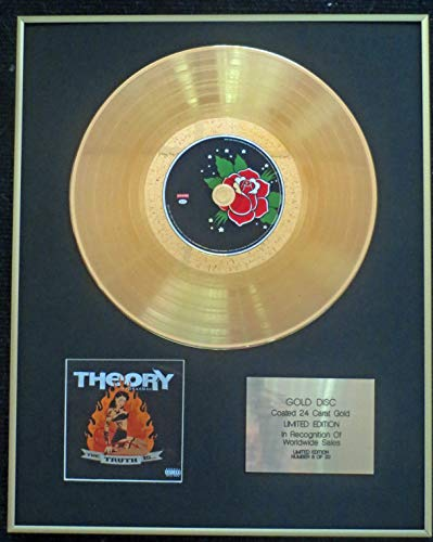 Century Presentations - Theory of a Deadman - Exclusive Limited Edition 24 Carat Gold Disc - The Truth is.