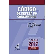 Código de defesa do consumidor: Lei n. 8.078, de 11 de setembro de 1990