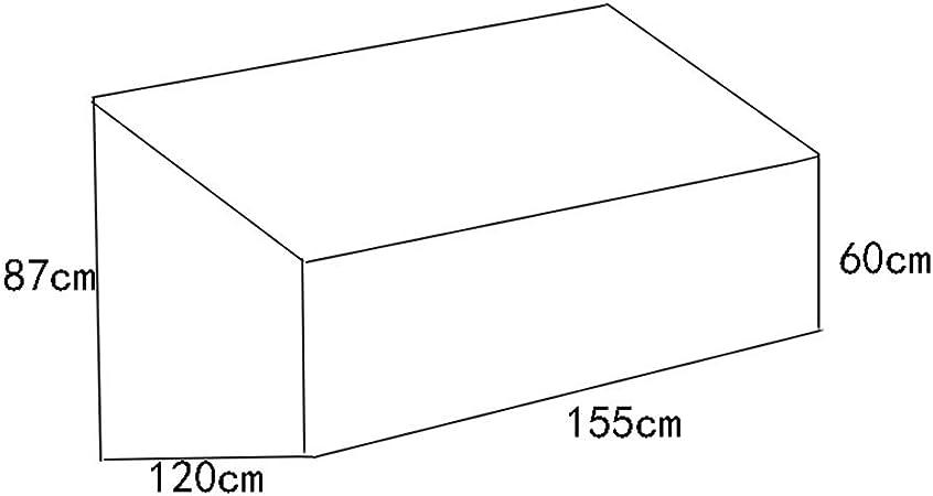 Negro Guardapolvo Protector Solar Impermeable Al Aire Libre De Múltiples Fines Funda Protectora Muebles Jardín Cubierta (Color : Black, Size : 155x120x87cm): Amazon.es: Hogar