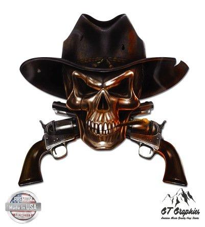 Cowboy Skull - 5