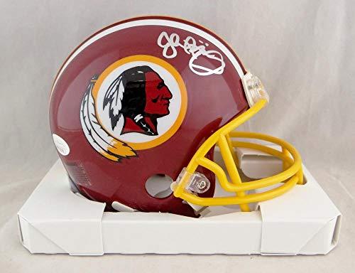 John Riggins Autographed Washington Redskins TB 1982 Mini Helmet- JSA W Auth Silver ()