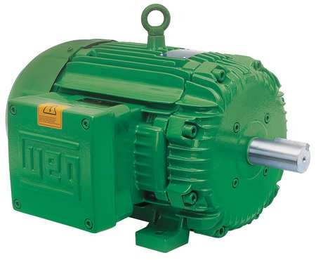 - WEG 00118XT3E143T NEMA Premium Explosion Proof Hazardous Locations Electric Motor, 1 HP, 3-Phase, 1765 RPM, 208-230/460 V, 50/60 Hz, Frame 143T