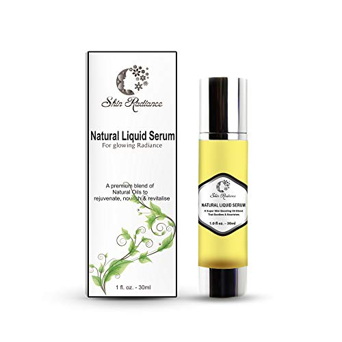 Derma Roller Face Serum by Skin Radiance-100% Natural Premium Face Oil Blend - UK Bestseller! - Boosts Collagen, Lightens and Tones and Soothes Skin. Produced Responsibly in UK in Small Batches. (Best Price Perfume Uk)