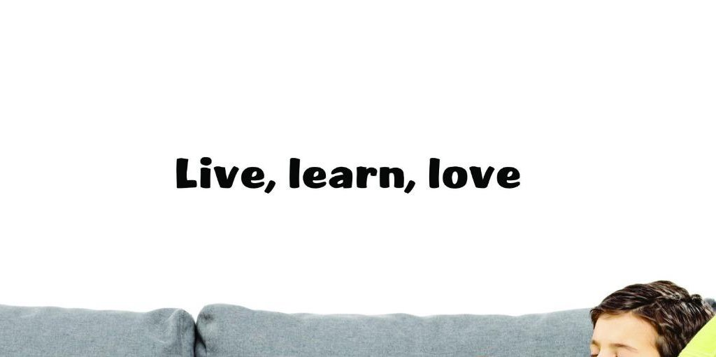 Design with Vinyl US V SOS 992 2 Top Selling Decals Live Love Wall Art Size Black 8 x 30 8 Inches X 30 Inches Color Learn
