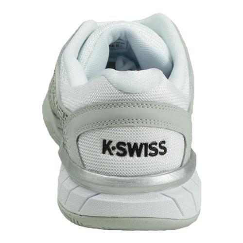 K-Swiss Männer Hypercourt Express Grau / Weiß / Silber