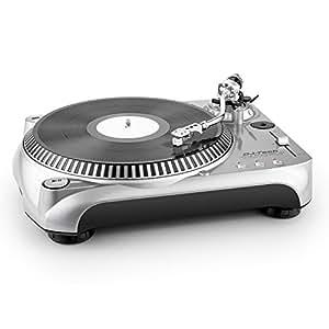 DJ-Tech Vinyl Encoder 10 v2 Tocadiscos Digitalización a MP3 USB Plateado