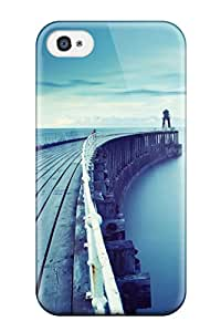 For BeqNZgg4376vGoRV Pier Bridge Calm Water Iphone 5 Protective Case Cover Skin/iphone 4/4s Case Cover
