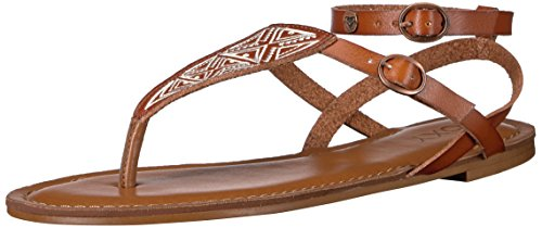 Sandal Dress Strappy Women's Brown Milet Roxy qnwUpCIZ