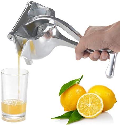 Detectoy Exprimidor de Frutas de Mano Máquina portátil Exprimidor Exprimidor Manual Duradero Cocina Hogar Bebé Exprimidor de Frutas Clip de limón